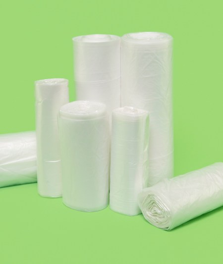 "37x46"" HDPE Liners, natural, 12 mic (250/case)"