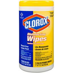 Clorox Disinfectant Wipes Lemon Scent (6/pack)
