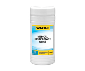 WAXIE MEDICAL DISINFECTANT WIPES  6 TUBS/CS
