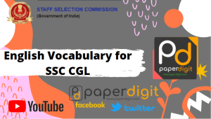 ssc cgl, ibps, english vocabulary