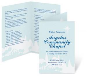 Free Church Bulletin Template. church bulletin template 12 free ...