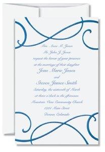Basic Elements Of Wedding Invitation Wording
