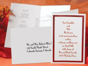 Address Wedding Envelopes Riding Type