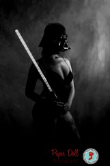Star Wars Darth Vader boudoir session in St. Louis