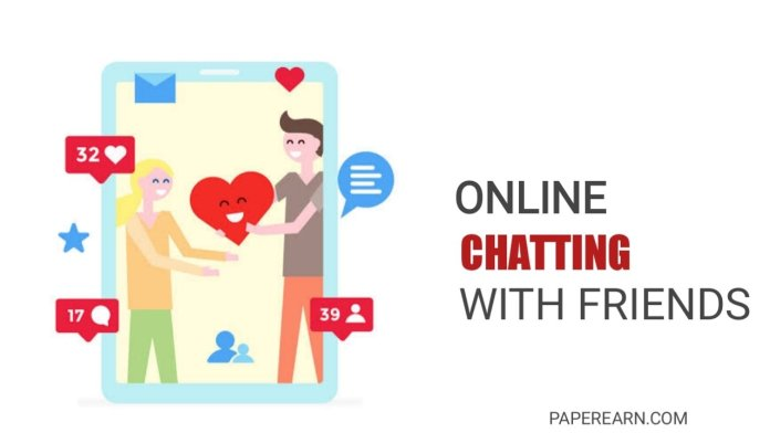 how you can do online chatting - paperearn.com