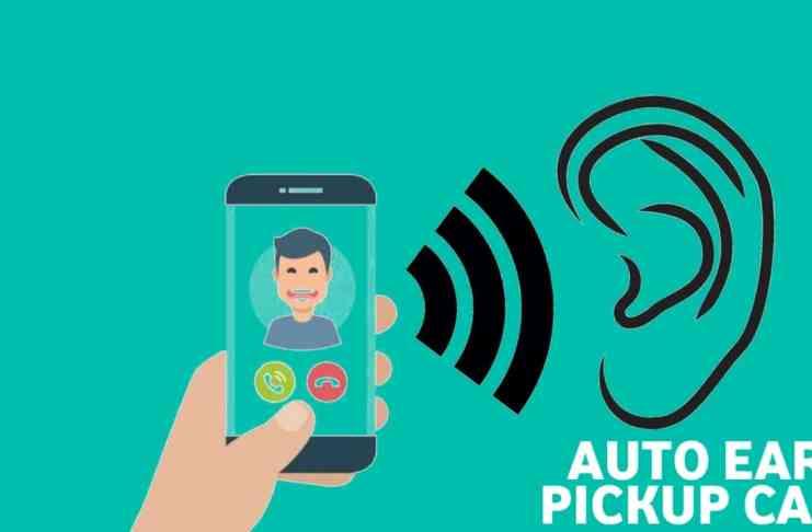 auto ear pickup calls