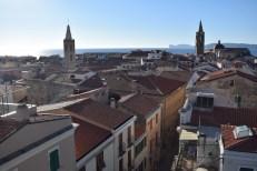 Vista di Alghero dalla Torre di Porta Terra