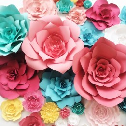 Paperflora paper flower walls backdrops and home decor paper flowers by paperflora large paper flower backdrop mightylinksfo