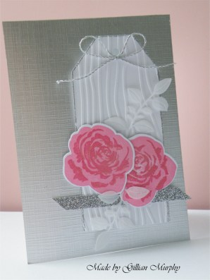 AN pink rosed tag on silver 1