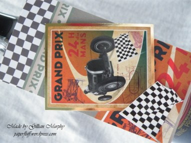 bottle tag - grand prix detail