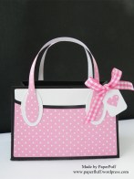 kensington bag dotty pink