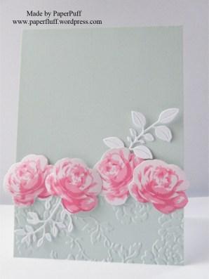 Altenew Vintages Roses low border