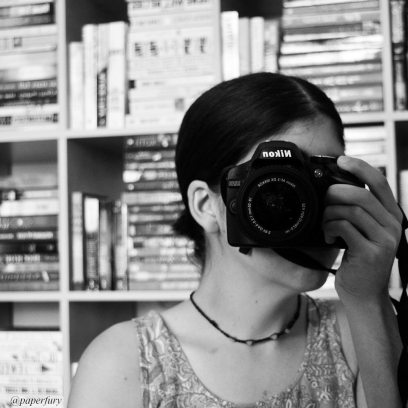 black and white + me + shelfie