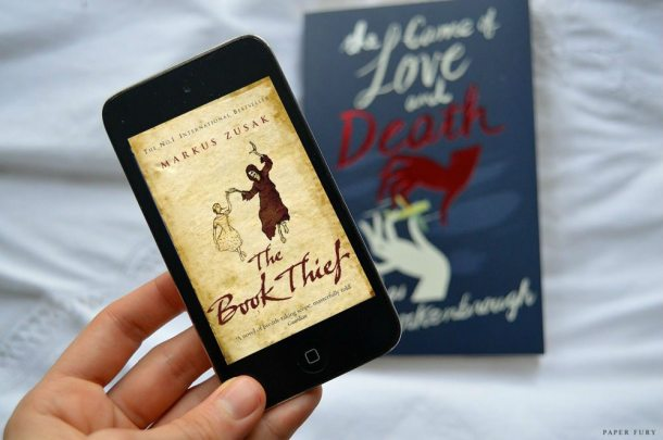 the game of love & death + t he book thief