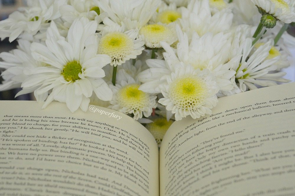 flowers + pages
