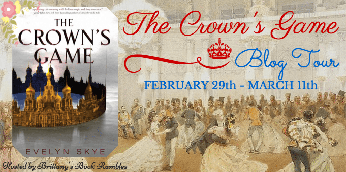 The Crown's Game Blog Tour Banner