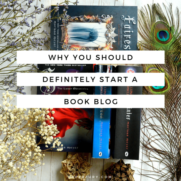 why you should start a book blog