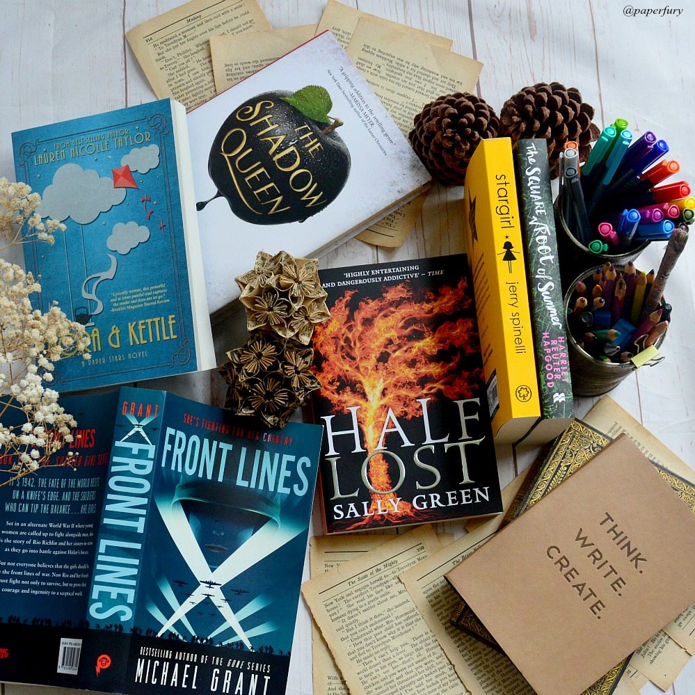book haul april (2)