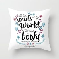 book-secrets-lemony-snicket-quote-pillows