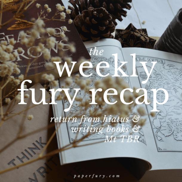 weekly fury april