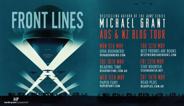 Front Lines banner dates