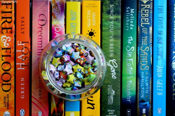 rainbow books + lucky stars