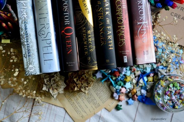 line of books (3)