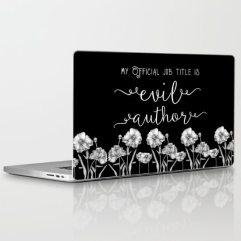 evil-author-laptop-skins