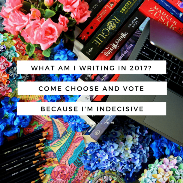 What Am I Writing in 2017-