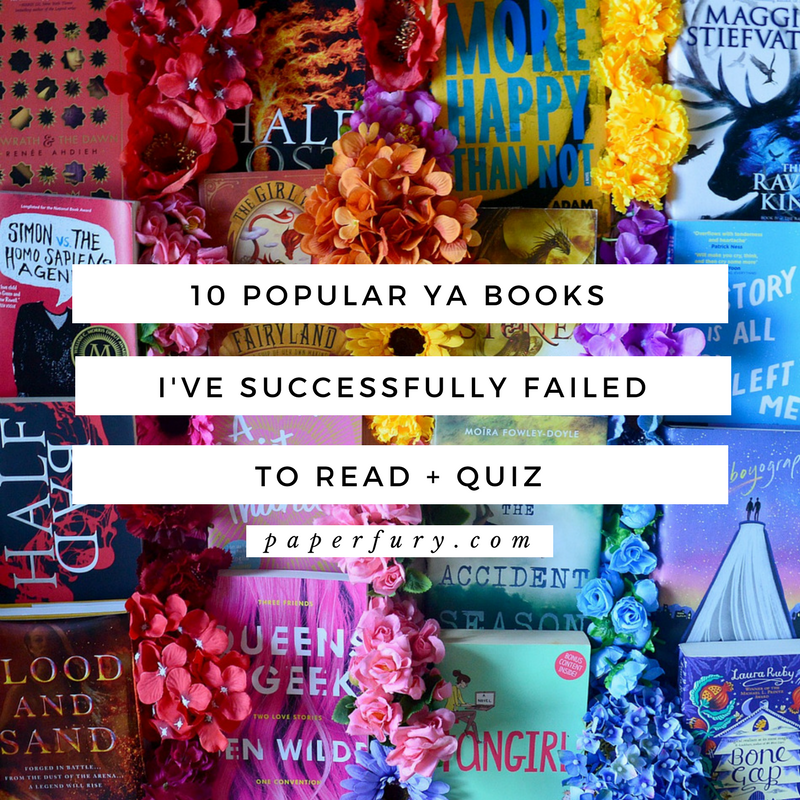 10 Popular Ya Books I Ve Successfully Failed To Read Wow Quiz To