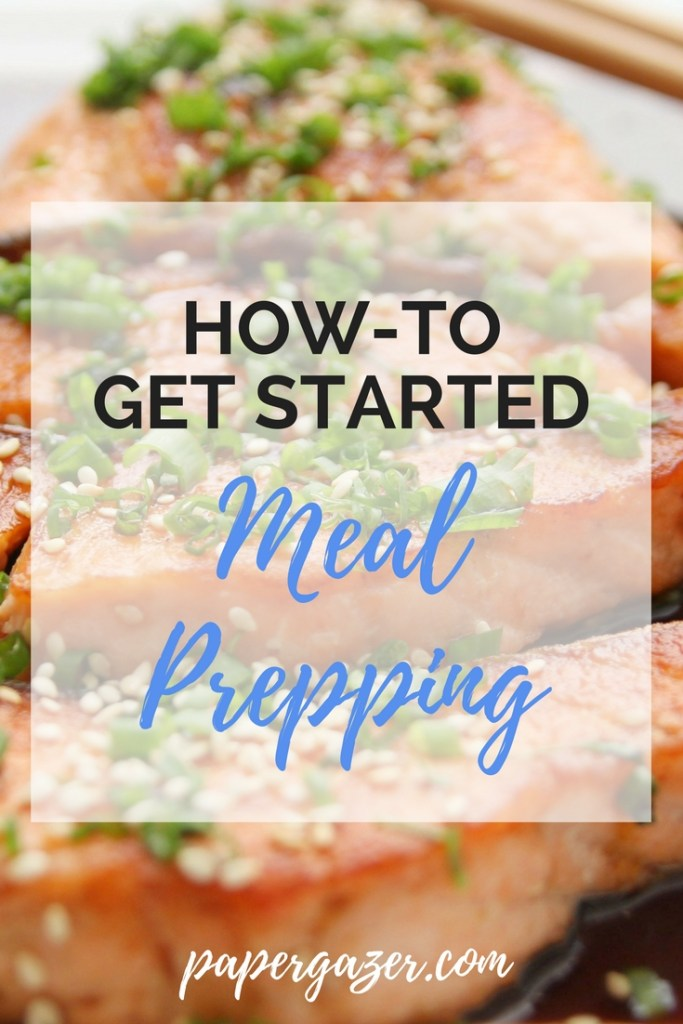 Are you trying to eat healthy? These handy tips for meal prep and planning make it easy! Great for beginners! #mealprep #mealplanning
