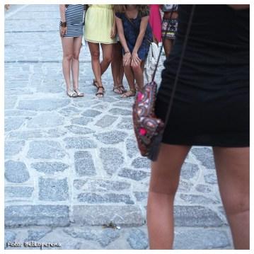 Turistes fent-se fotos