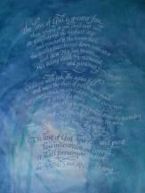 Calligraphy by Sheryl Bracey