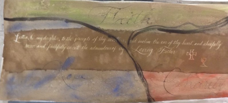 Calligraphy by George Harmeling