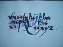Calligraphy by Ann Rabinovitz