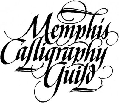 Calligraphy by Bill Womack