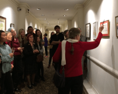 Annual Open Members' Exhibition at National Arts Club, Artists' Talk - November 2015