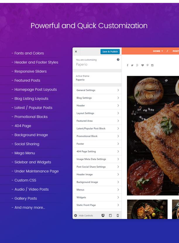 Paperio - Responsive and Multipurpose WordPress Blog Theme - 6