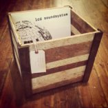 Reclaimed Wood Record Crate by Sean Murty