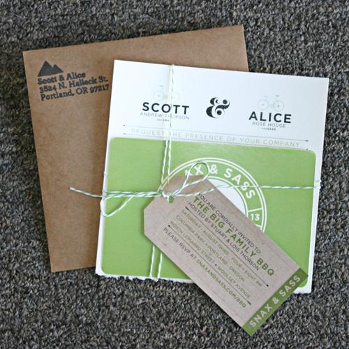 Scott and Alice wedding set