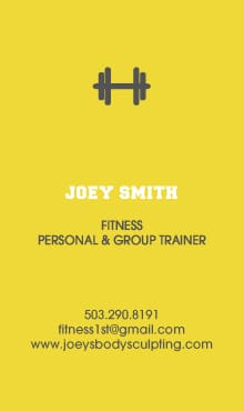 Joey Smith Biz Card