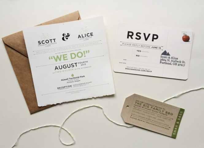 Diy Wedding Invitation Printing Portland