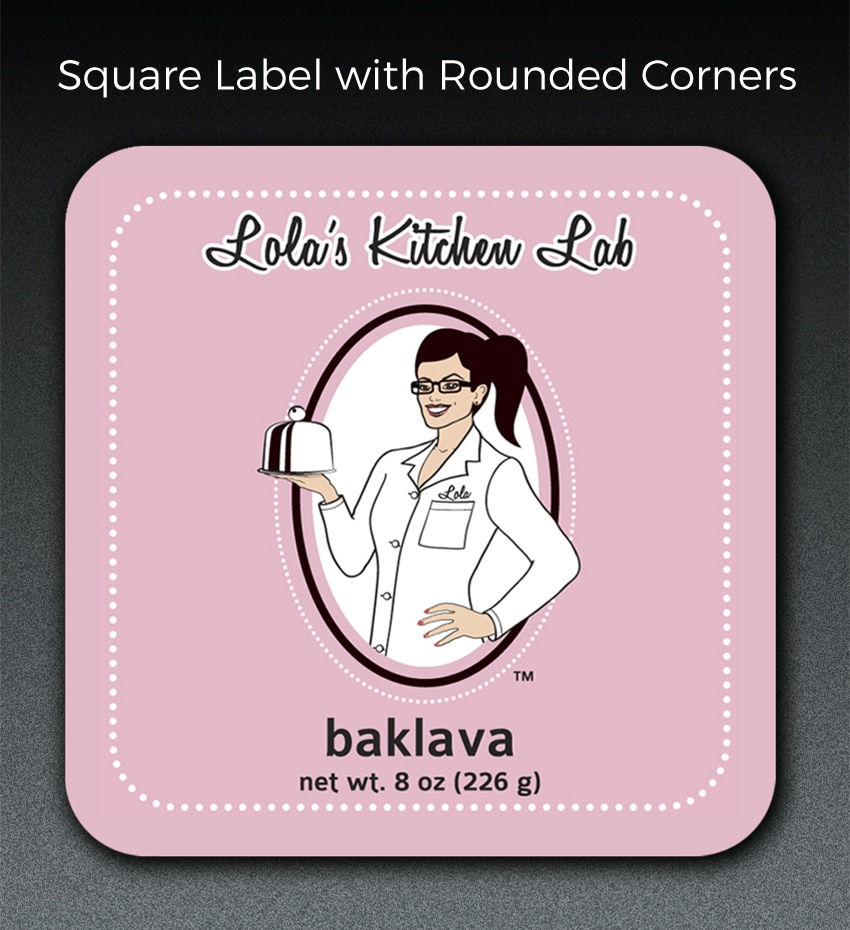 square label