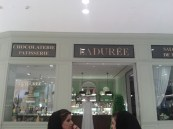 Lovely ladies at La Duree