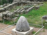 Navel of the World, middle of the earth in Delphi, Greece
