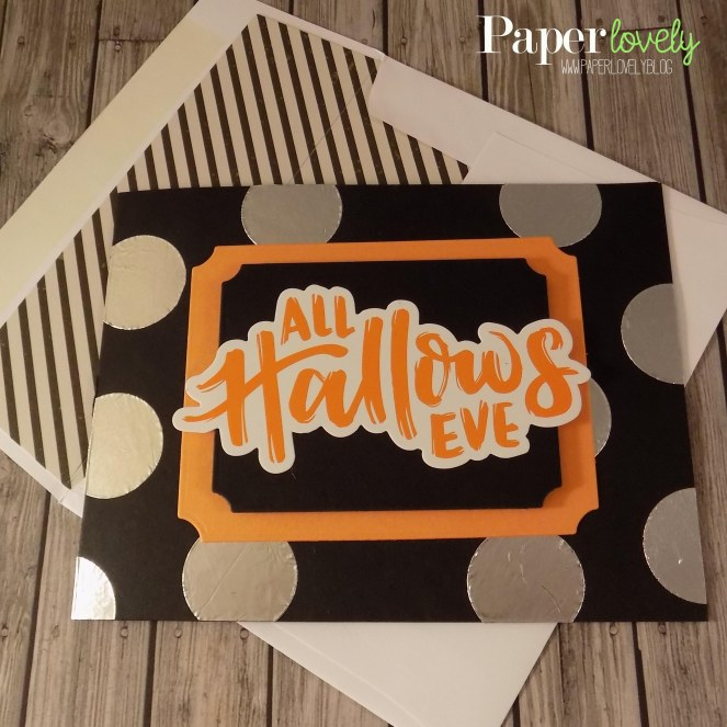 3 card and envelope