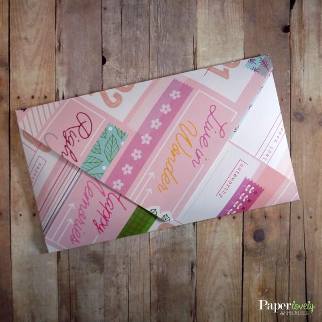 envelope back copy