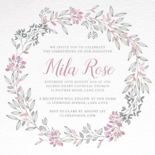Vintage Wedding Invitations Online Australia