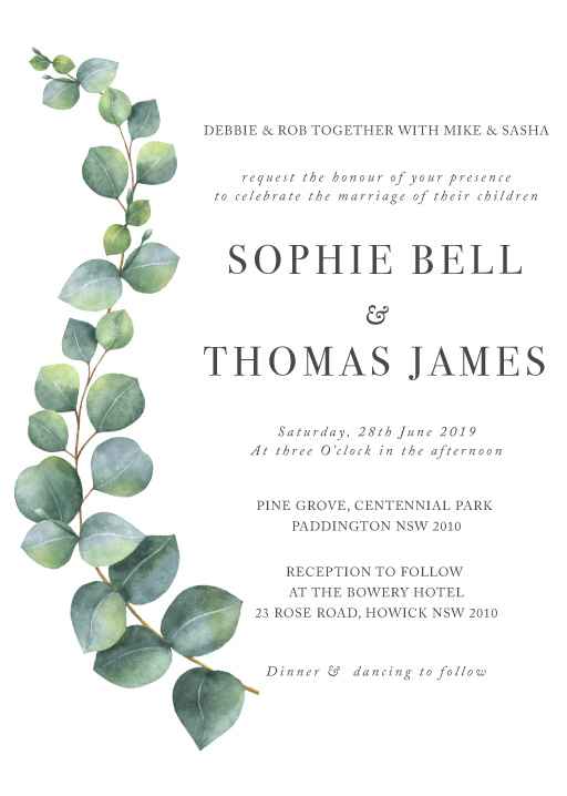 Vancouver Wedding Invitations Designs By Creatives