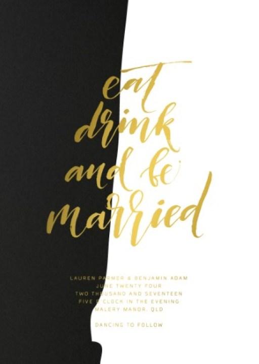 Wedding Invitation Stationery Design Nz By Just My Type